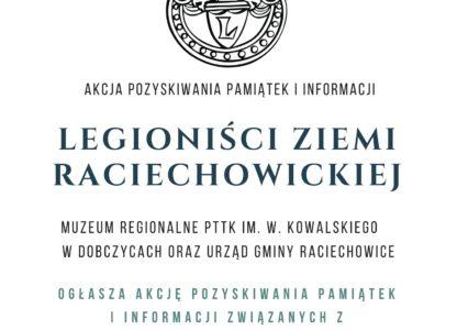 Legioniści ziemi raciechowickiej