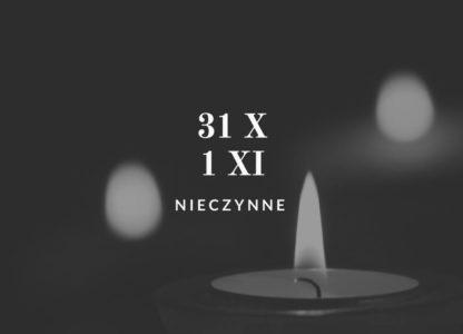 31 X i 1 XI 2018 r. – MUZEUM NIECZYNNE
