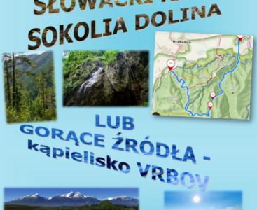 Wycieczka Słowacki RAJ – Sokolia Dolina
